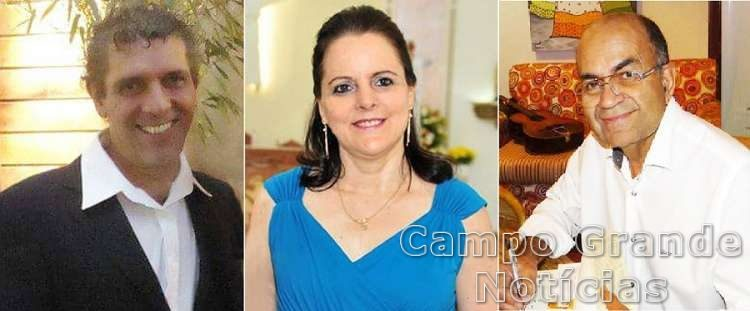 Emmanuel Marinho, Ileides Muller e Samuel Medeiros - novos Acadêmicos eleitos da ASL – Fotos: Divulgação