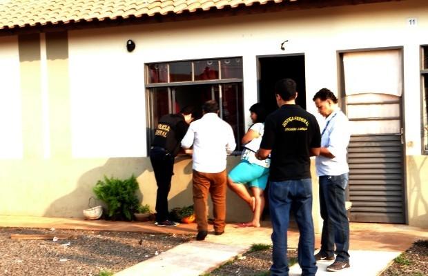 PF cumpre mandados de reintegração de posse de residência em Campo Grande (MS)