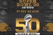 Cinemark transmite 50ª edição do Super Bowl ao vivo no dia 7 de fevereiro