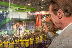 Arnold Schwarzenegger na edição de 2015 (Rodrigo Dod/Savaget)