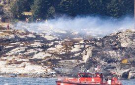 Helicóptero cai no Sul da Noruega e mata pelo menos 11 pessoas