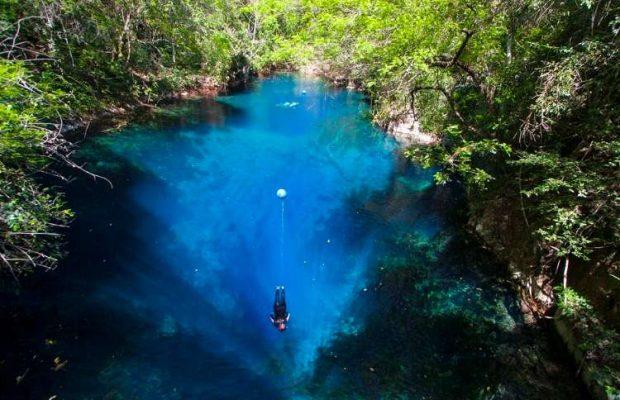 Lagoa Misteriosa em Jardim (MS) abre temporada 2016