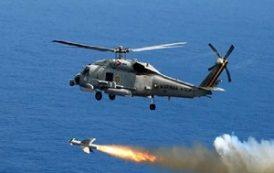 Marinha realiza testes com mísseis no litoral Brasileiro e afunda corveta desativada