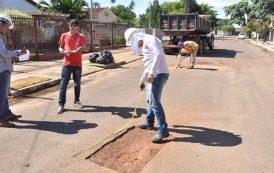 Equipes retomam trabalhos de recuperação asfáltica em diversas regiões da Capital