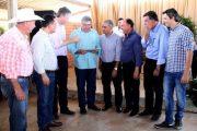 Prefeito Mario Kruger participa de encontro com Sarney Filho, Reinaldo Azambuja e Pedro Taques