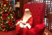 Papai Noel de shopping da Capital estimula solidariedade a crianças da Afrangel