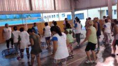 Alunos de projeto do IEE comemoram Carnaval com evento esportivo